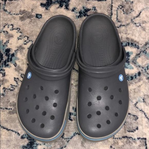 Crocs Mens Clog gray size 11